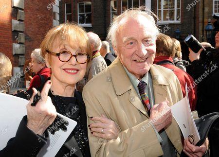 Una Stubbs and Geoffrey Bayldon