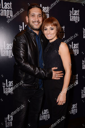 London UK 28th Sept 2016: Flavia Cacace and Jimi Mistry? at the Press Night Afterparty for 'The Last Tango' at L'escargot, September 28, 2016 London UK
