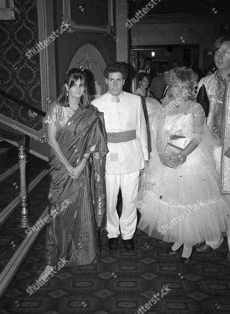 5th December Raj Ball Viscount David Linley and Susannah Constantine