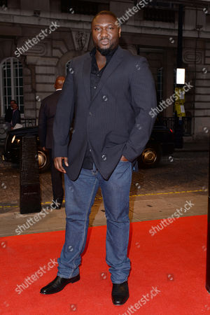 London UK 27th Sept 2016: Nonso Anozie Attends the Premiere of 'urban Hymn' at the Curzon Mayfair, London On the September 27, 2016 London UK