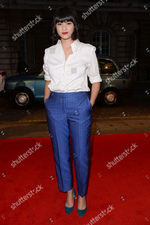 London UK 27th Sept 2016: Isabella Laughland Attends the Premiere of 'urban Hymn' at the Curzon Mayfair, London On the September 27, 2016 London UK