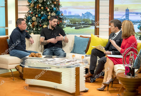Andy Bradstock and Ben Waters-Bleach with Ben Shephard and Kate Garraway