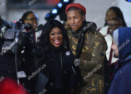 Kim Burrell, Pharrell Williams