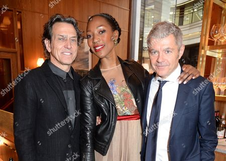Stephen Webster, Vanessa Kingori and Alan Edwards