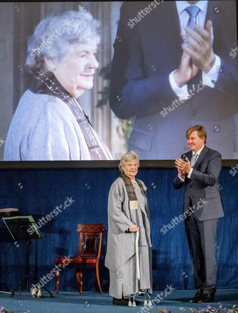 Editorial image of Erasmus Prize ceremony, Amsterdam, Netherlands - 08 Dec 2016