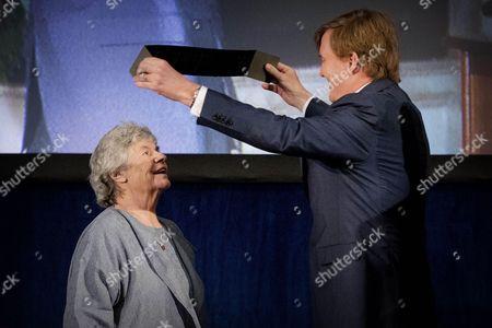 Editorial picture of Erasmus Prize ceremony, Amsterdam, Netherlands - 08 Dec 2016