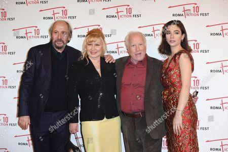 Giuseppe Piccioni, Svetlana Erokhin, Richard Dreyfuss and Matilda De Angelis