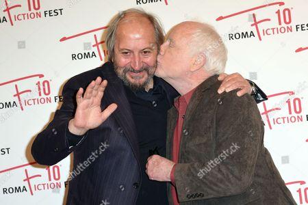 Giuseppe Piccioni and Richard Dreyfuss