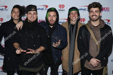 Editorial image of Z100's iHeartRadio Jingle Ball, New York, USA - 09 Dec 2016