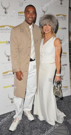 Colin Jackson and Karen Millen