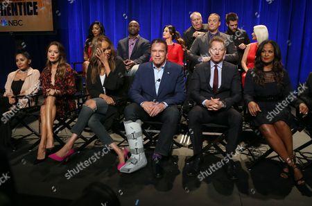 Brooke Burke Charvet, Tyra Banks, Arnold Schwarzenegger, Patrick M. Knapp Schwarzenegger, Laila Ali