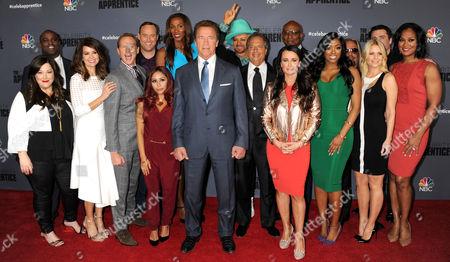 Carnie Wilson, Brooke Burke Charvet, Lisa Leslie, Arnold Schwarzenegger, Kyle Richards, Laila Ali