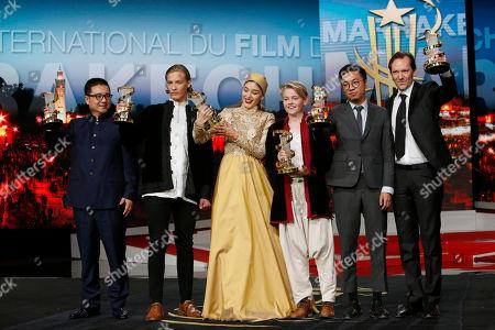 Editorial photo of Film Festival, Marrakech, Morocco - 10 Dec 2016