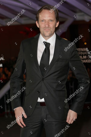 """Stock Photo of Austrian film director Rainer Frimmel attends the closing ceremony of the the 16th Marrakech International Film Festival in Marrakech, Morocco, . Rainer Frimmel wind the Jury prize for the film """" Mister Universo"""