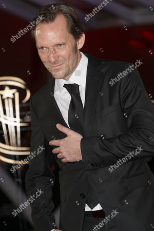 """Stock Image of Austrian film director Rainer Frimmel attends the closing ceremony of the the 16th Marrakech International Film Festival in Marrakech, Morocco, . Rainer Frimmel wind the Jury prize for the film """" Mister Universo"""