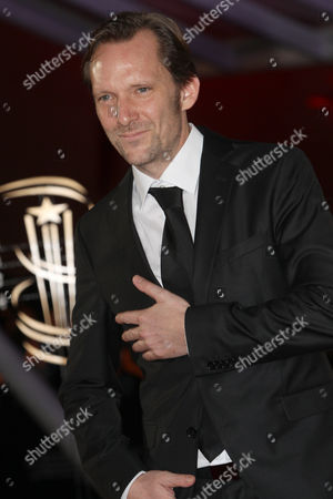 """Austrian film director Rainer Frimmel attends the closing ceremony of the the 16th Marrakech International Film Festival in Marrakech, Morocco, . Rainer Frimmel wind the Jury prize for the film """" Mister Universo"""