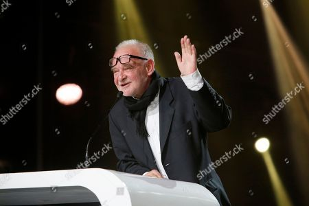 Stock Picture of Jury president Bela Tarr attends the closing ceremony of the the 16th Marrakech International Film Festival in Marrakech, Morocco
