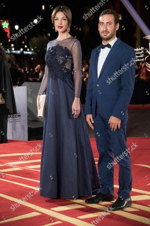 Eleonore Boccara attends the closing ceremony of the 16th Film Festival of Marrakech