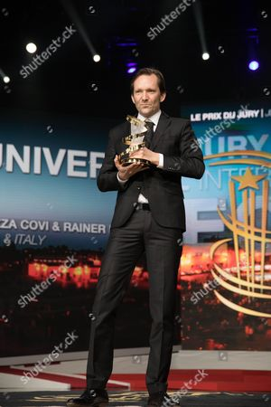 Rainer Frimmel won the Jury Prize during the closing ceremony of the 16th Film Festival of Marrakech