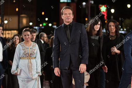 Samuel Le Bihan attends the closing ceremony of the 16th Film Festival of Marrakech