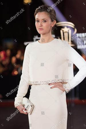 Constance Rousseau attends the closing ceremony of the 16th Film Festival of Marrakech