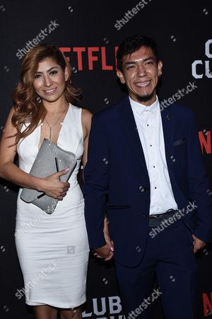 Eranndi Rojas and Said Sandoval