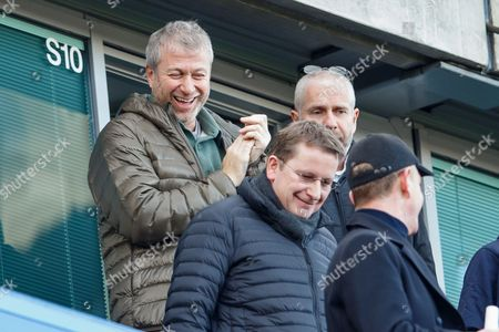 Stock Picture of Chelsea owner Roman Abramovich during the Premier League match between Chelsea v West Bromwich Albion played at Stamford Bridge Stadium, London on 11th December 2016