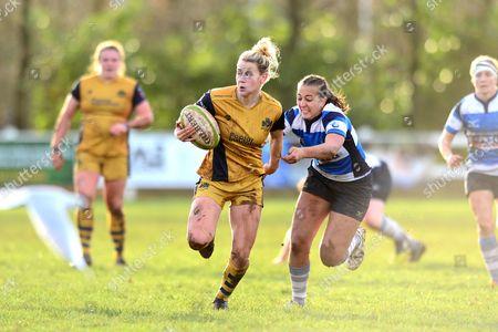 Meg Jones of Bristol Ladies breaks away