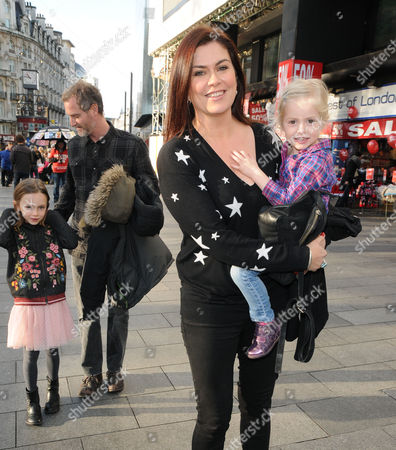 Willow Rose McGuinness, Sean McGuinness, Amanda Lamb and Lottie