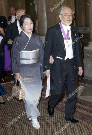Yoshinori Ohsumi, Mariko Ohsumi