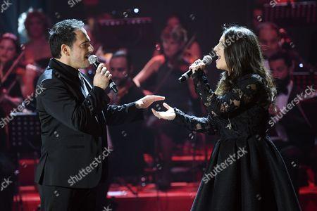 Piero Mazzocchetti and Deborah Iurato