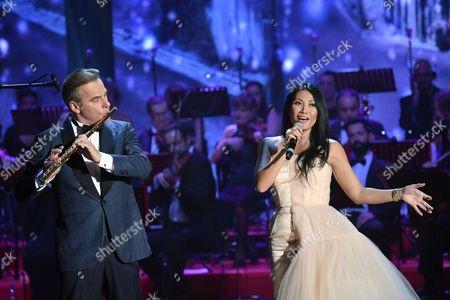 Andrea Griminelli and Anggun