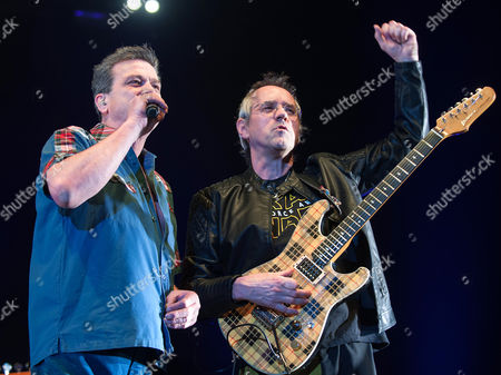 Editorial image of The Bay City Rollers in concert at the SSE Hydro, Glasgow, Scotland, UK - 11 Dec 2016
