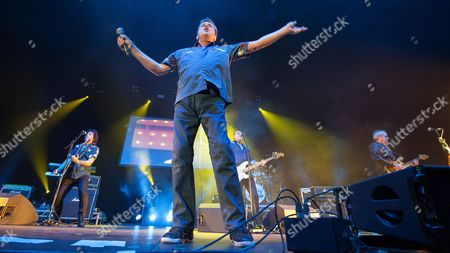 Stock Photo of The Bay City Rollers - Stuart Wood, Les McKeown