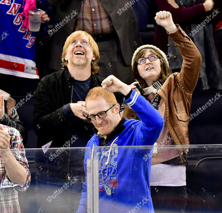 Stock Image of Trey Anastasio, guest and Steve Hofstetter