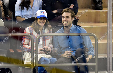 Editorial image of Celebrities at New Jersey Devils v New York Rangers, NHL ice hockey match, New York, USA - 11 Dec 2016
