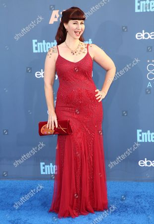 Editorial image of 22nd Annual Critics' Choice Awards, Arrivals, Los Angeles, USA - 11 Dec 2016