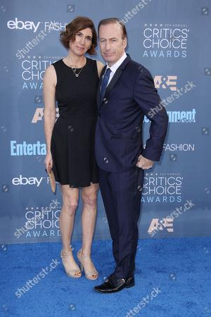 Bob Odenkirk and Naomi Odenkirk