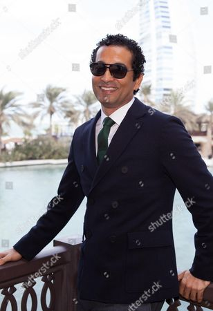 Amr Saad at The Preacher premiere
