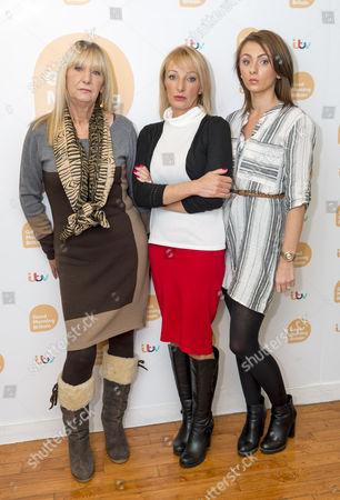 Stock Picture of Leighanna Needham, Christine Needham and Kerry Needham