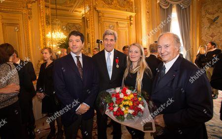 Andre Heinz, John Kerry, Maria Marteisndoffir; Karim Prince Karim Aga Khan