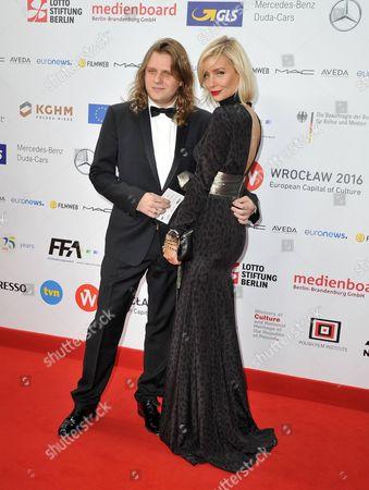 Stock Image of Piotr Wozniak-Starak and Agnieszka Wozniak-Starak