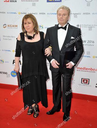 Stock Picture of Daniel Olbrychski and Krystyna Demska-Olbrychska