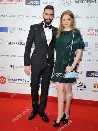 Stock Image of Dejan Bucin and Maria Dragus