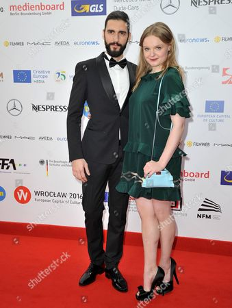 Stock Picture of Dejan Bucin and Maria Dragus