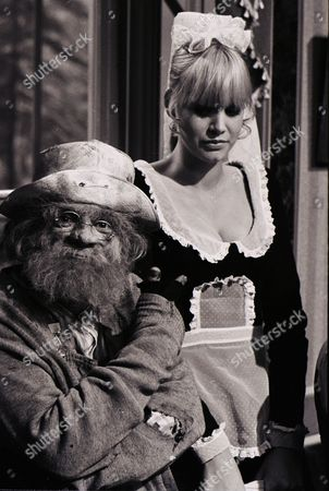 David Jason (as Dithers) with Moira Foot (as Effie the maid)