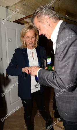 Elisabeth Murdoch and David Webster