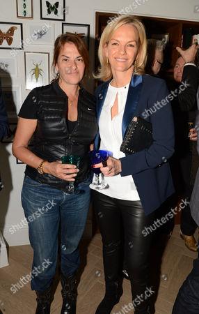 Tracey Emin and Elisabeth Murdoch