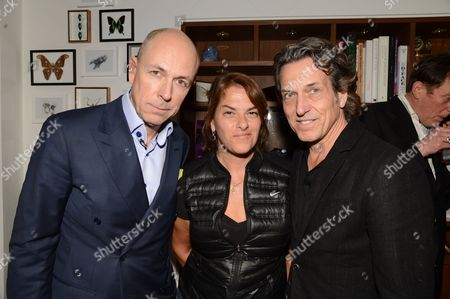 Dylan Jones, Tracey Emin and Stephen Webster