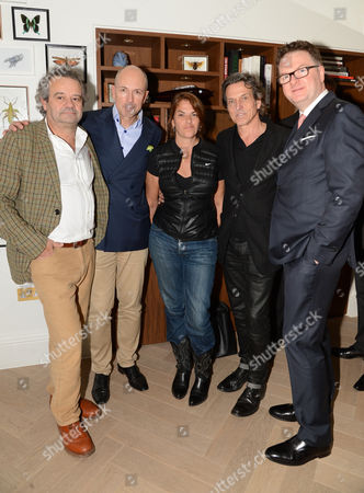 Mark Hix, Dylan Jones, Tracey Emin, Stephen Webster, Ewan Venters
